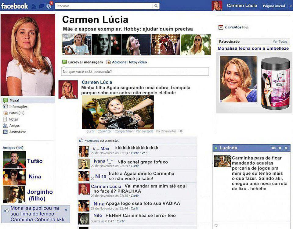 Facebook Da Carminha