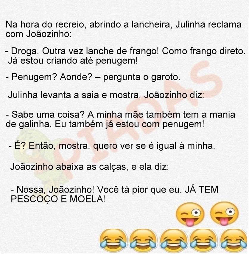 Piadas Do Joãozinho Piadascombr