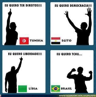 É bom ser brasileiro!