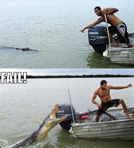 Crocodilo Dundee Tupiniquim