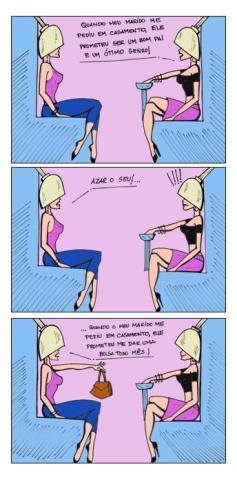 Mulheres no salão