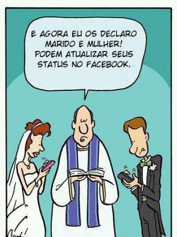Casamento na era facebook