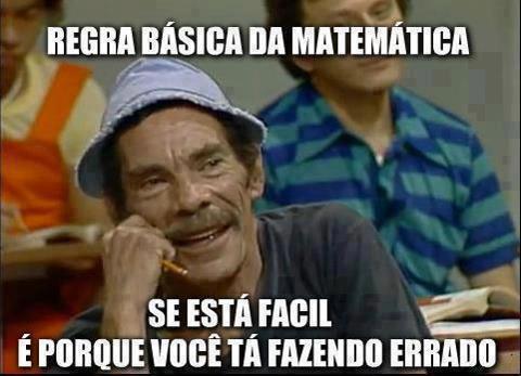 Regra básica da matemática
