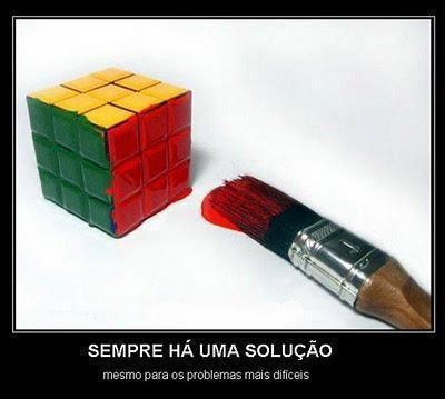 Sempre há uma solução