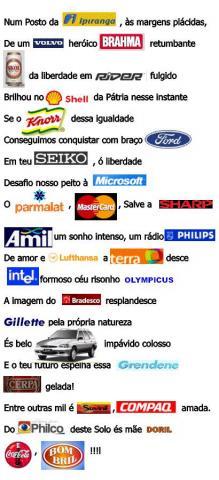 hino do brasil modificado