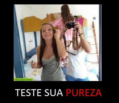 TESTE DE PUREZA!!