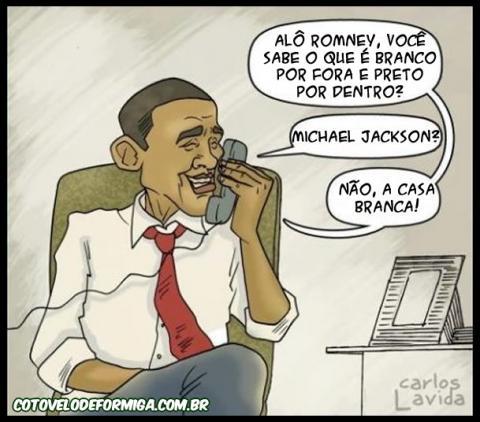 Presidente Obama Zuando