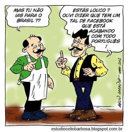 Querem acabar com o Português!