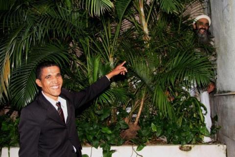 Obama achando Osama